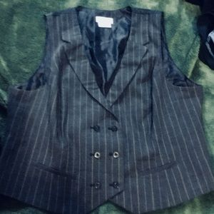 Men Van Heusen Stretch Vest Sz XL